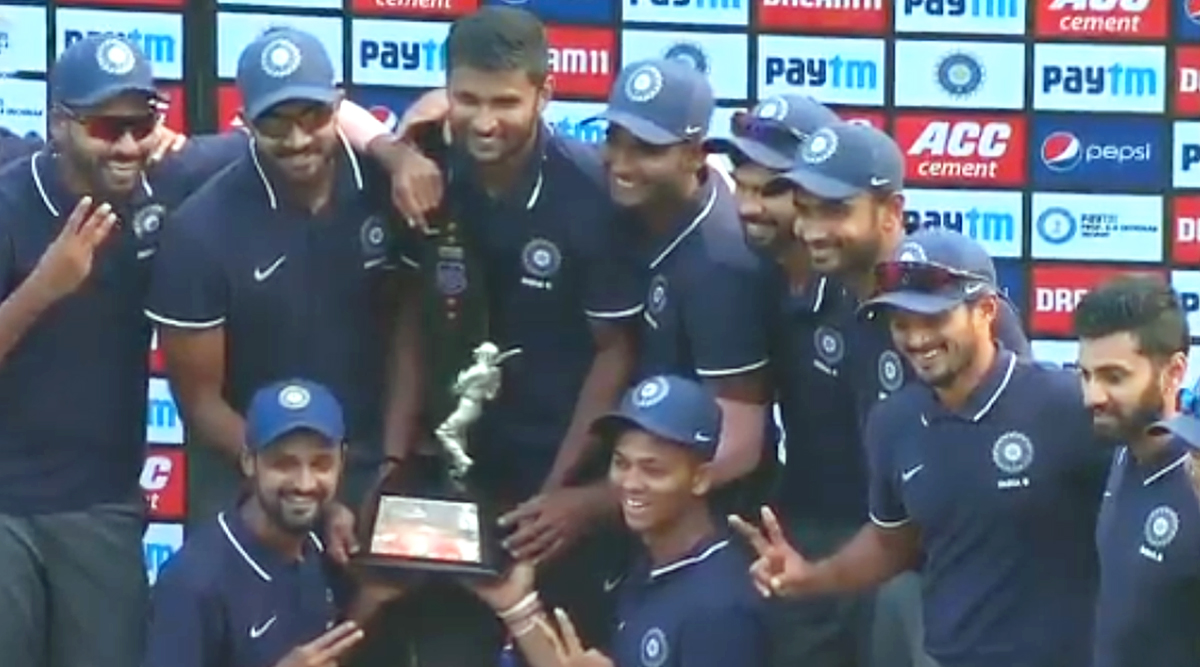 Deodhar Trophy Final 2019: Kedar Jadhav, Shahbaz Nadeem Shine As India 'B' Defeat India 'C' to Lift Trophy