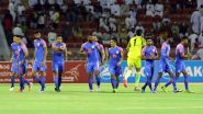 India vs Oman, 2022 FIFA World Cup Qualifiers Result: Muhsen Al Ghassani's Sole Goal Lead Oman to 1–0 Victory Against India