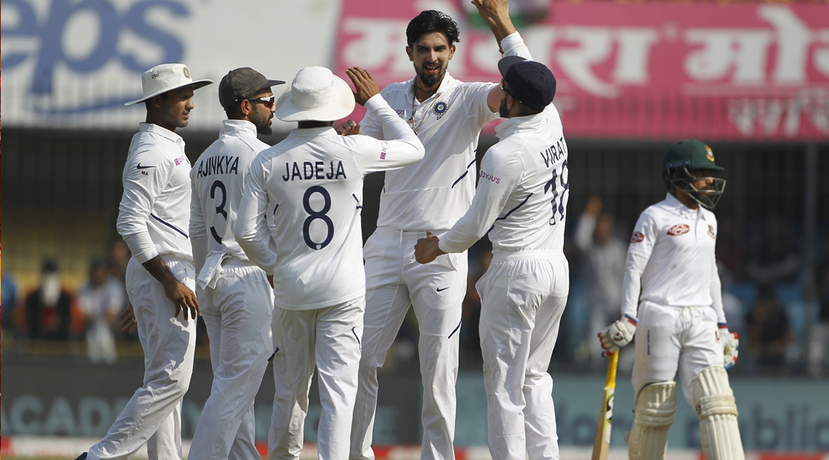 IND vs BAN Stat Highlights 1st Test 2019: Virat Kohli Etches New Heights as India Skipper, Mayank Agarwal Rewrites Record Books