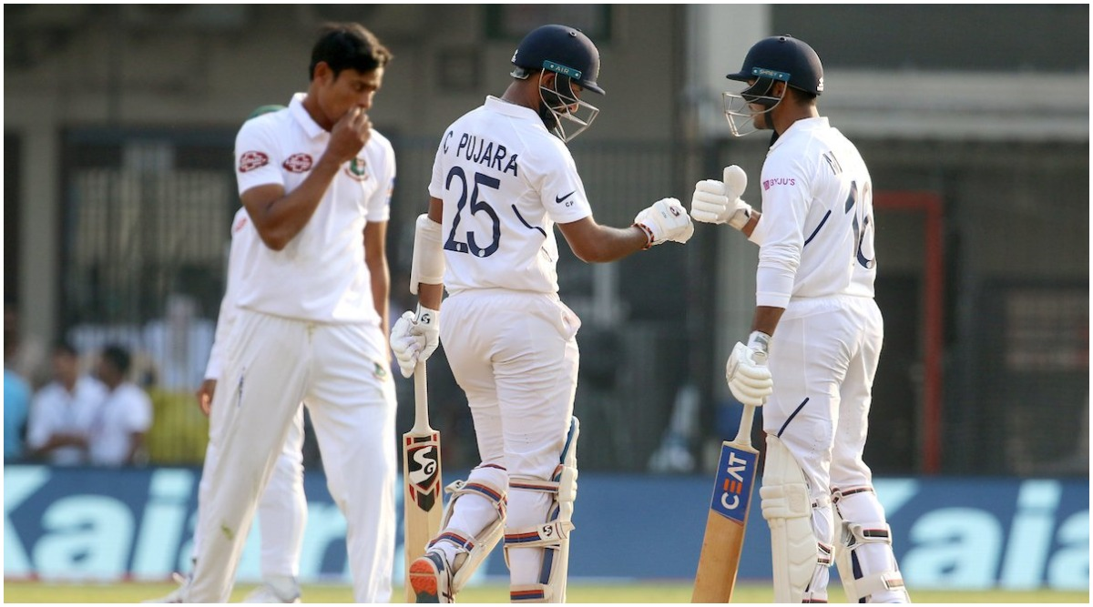 India vs Bangladesh Live Cricket Score, 1st Test 2019, Day 2: Get Latest Match Scorecard and Ball-by-Ball Commentary Details for IND vs BAN Test from Indore
