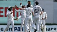 India vs Bangladesh Day-Night Test 2019: Pacers Strike Again to Keep Visitors Struggling on Pink Ball Debut
