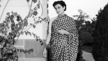 Indira Gandhi Jayanti 2019: Rare Photos To Remember the 'Iron Lady' On Her 130th Birth Anniversary