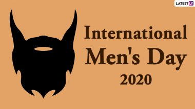 Happy International Men's Day 2020 Greetings for Husband, Boyfriend or Fiance: WhatsApp Stickers, GIF Images, Wishes, Facebook Photos, SMS and Quotes to Send Happy Men's Day Messages