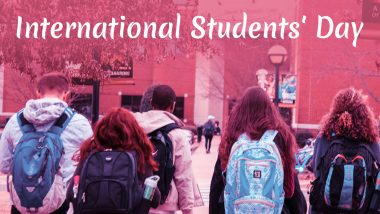 International Students' Day 2019 Date: History, Significance and Celebrations Related to Day That Encourages Youth Activism