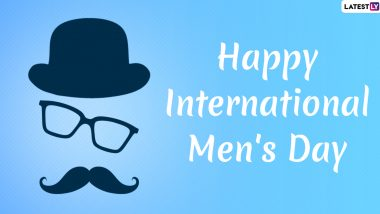 Happy Men's Day 2019 Wishes in Hindi: WhatsApp Messages, GIF Images, Quotes, SMS and Antarrashtriya Purush Diwas Greetings to Send on This International Observance