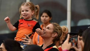 David Warner's Wife Candice Shares Video of Daughter Indi Rae Playing Cricket, Says She Wants to Be Virat Kohli
