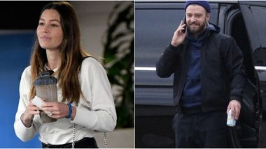 Jessica Biel Spotted Flaunting Her Wedding Ring in LA After Pictures of Husband Justin Timberlake Holding Hands With Co-Star Alisha Wainwright Go Viral