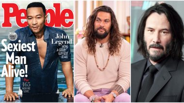 John Legend Crowned People's Sexiest Man Alive 2019 and Twitterati Believe Jason Momoa, Keanu Reeves Were Better Contenders