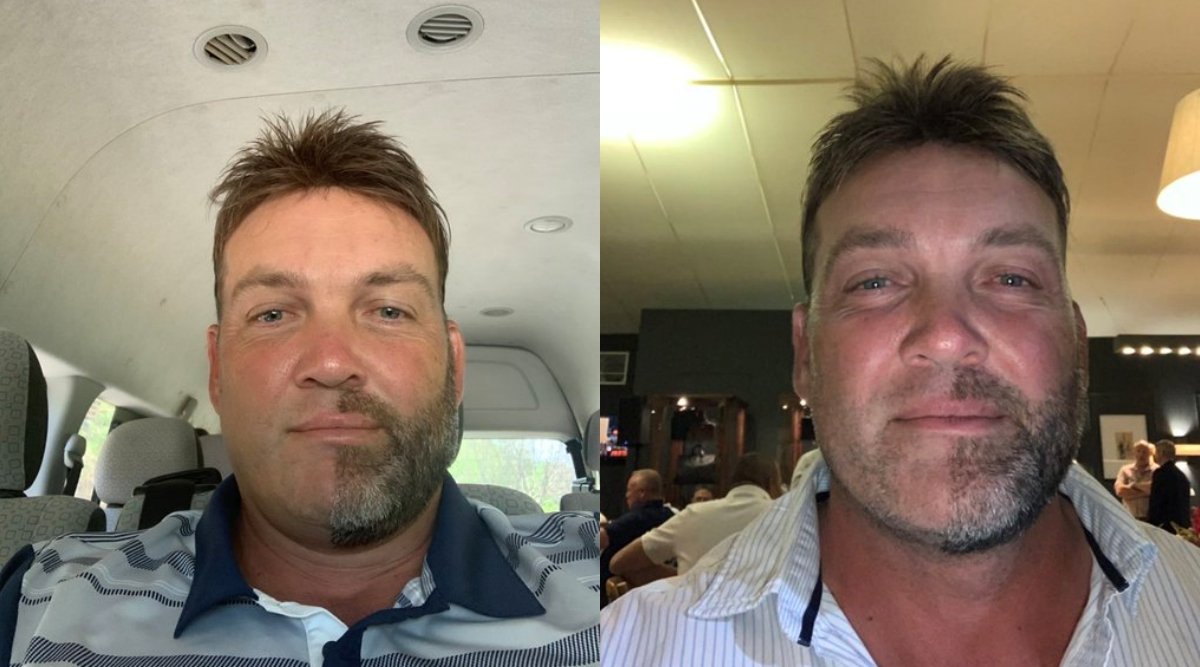 Why Jacques Kallis Shaved Exactly Half of His Beard & Moustache?