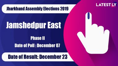 Jamshedpur East Vidhan Sabha Constituency Result in Jharkhand Assembly Elections 2019: Saryu Rai Defeats CM Raghubar Das to Clinch MLA Seat
