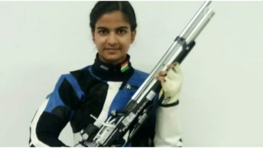 Asian Shooting Championship 2019: Jasmeen Kaur Clinches Gold in Women's 10m Air Rifle Event