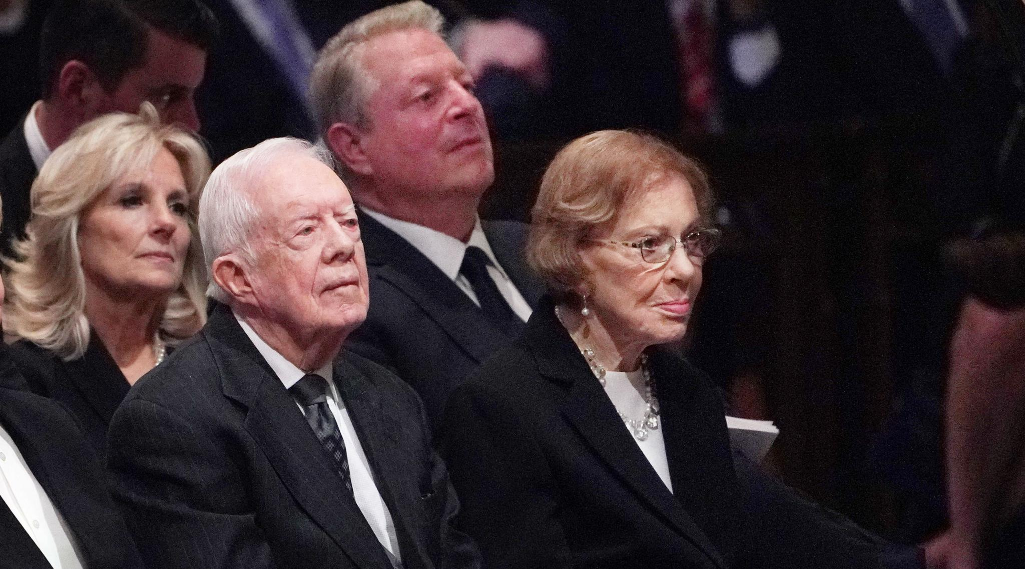 Jimmy Carter, Former US President Hospitalised for Procedure to Relieve Brain Pressure