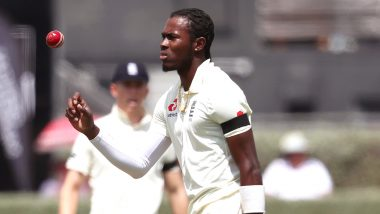 England Sweating over Jofra Archer's Availability in Second Test Against SA
