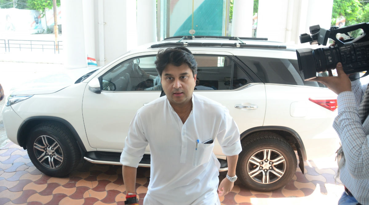 Jyotiraditya Scindia Refutes Reports of Madhya Pradesh Congress MLAs Going Missing