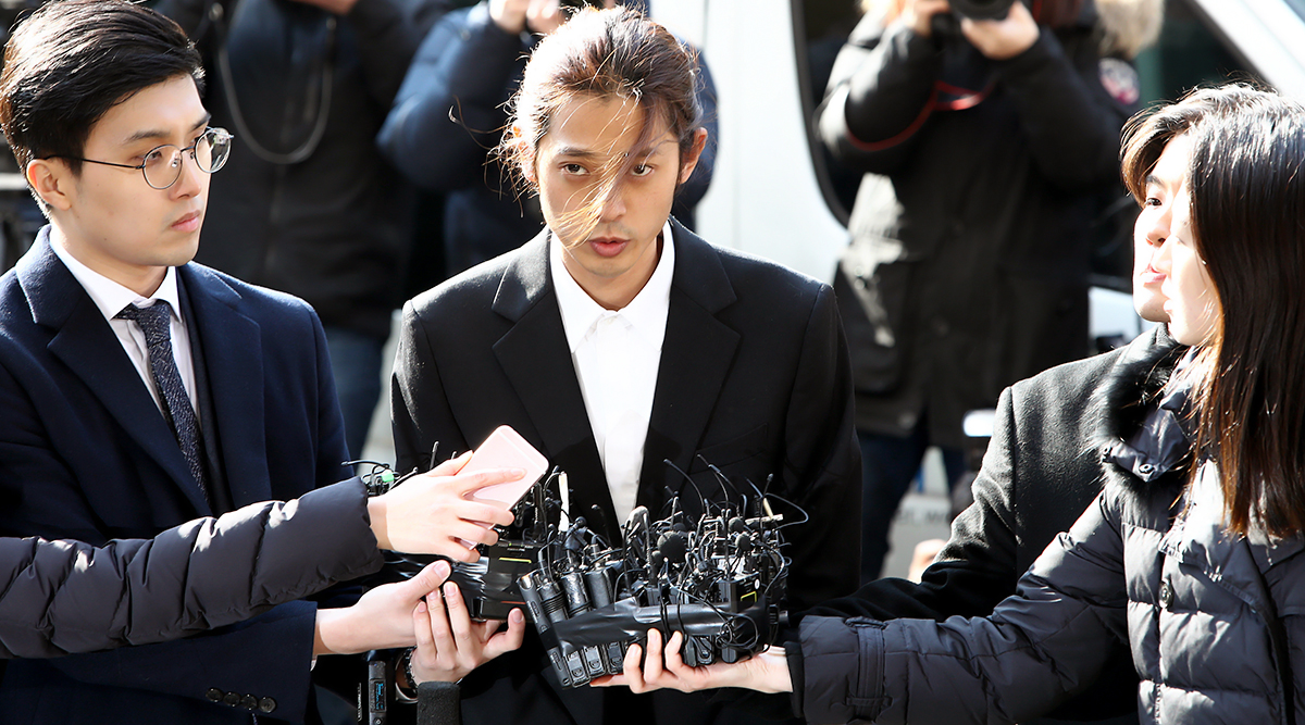K-Pop Stars Jung Joon-young And Choi Jong-hoon Jailed For Raping Women And Circulating Sex Videos in South Korea