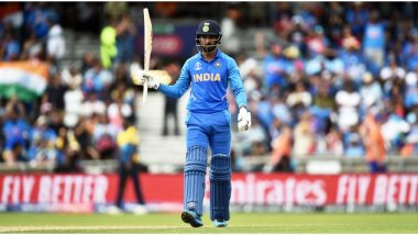 KL Rahul Completes Sixth T20I Half-Century During IND vs BAN 3rd T20I Match, Overtakes Gautam Gambhir As India's Seventh Highest Run-Scorer