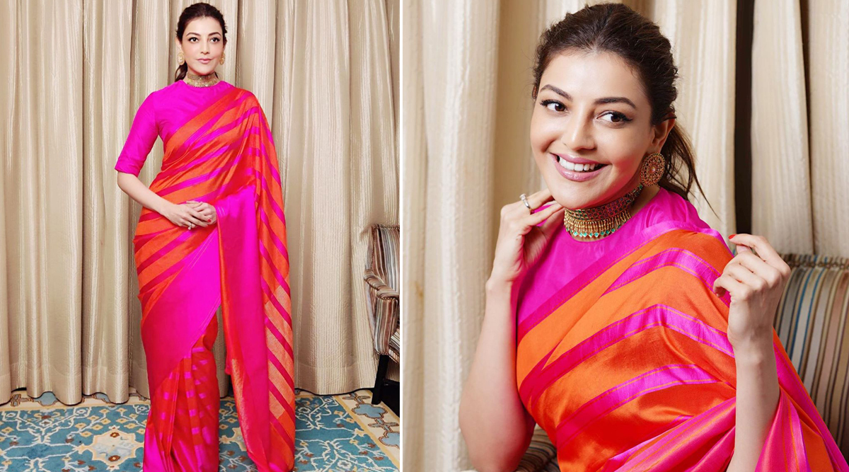 Yo or Hell No? Kajal Aggarwal in Raw Mango for Comali Success Party