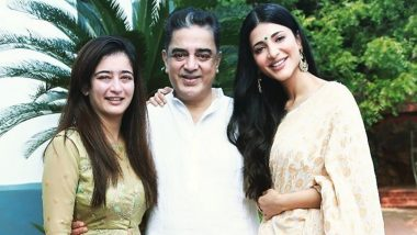 Shruti Haasan Wishes Dad Kamal Haasan with This Simple and Sweet Post on His 65th Birthday