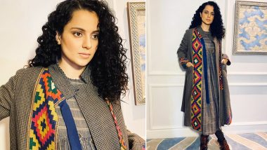 Winter Fashion 2019–20: Kangana Ranaut Says a Namaste, Aces Layering and Brings Some Fabulous Pahari Fashion With Her!