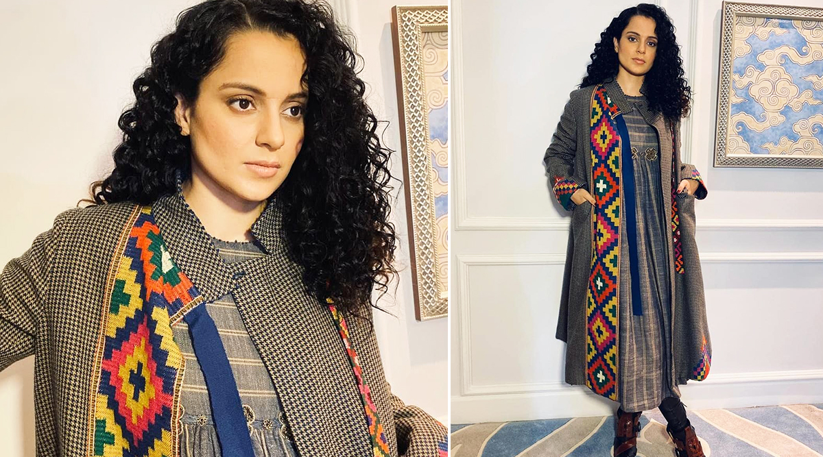 Winter Fashion 2019–20: Kangana Ranaut Says a Namaste, Aces Layering and Brings Some Fabulous Pahari Fashion With Her!
