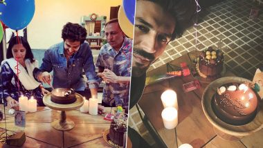Kartik Aaryan's 29th Birthday Kickstarts With a Delicious and Sweet Surprise From His Parents (View Pics)
