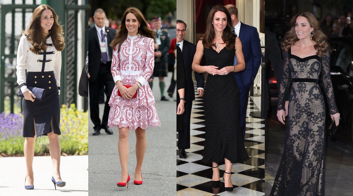 7 Times Kate Middleton Had The Best Way To Style Her Favourite Designer Alexander McQueen's Ensembles - View Pics