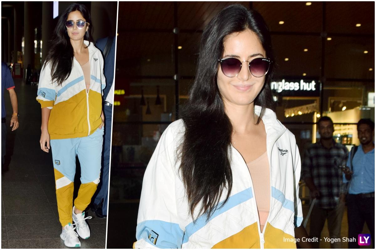 Katrina Kaif in Gigi x Reebok jacket