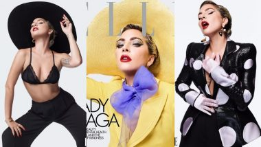 Lady Gaga Looks Sensational And Classy With Impeccable Makeup Game For Elle Magazine! View Pics