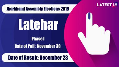 Latehar (SC) Vidhan Sabha Constituency in Jharkhand: Sitting MLA, Candidates For Assembly Elections 2019, Results And Winners