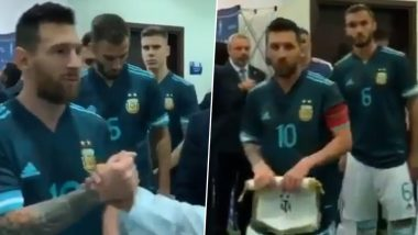 Lionel Messi Thanks Riyadh Authorities in Instagram Post After Leading Argentina to 1-0 Victory Over Brazil in International Friendly Match