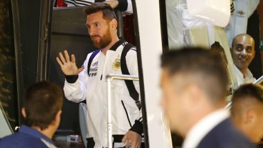 Lionel Messi-Led Argentina Arrives in Israel Ahead of 2019 Friendly Clash Against Uruguay