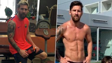 Lionel Messi Exercise Regime: Workout & Diet of Barcelona Skipper That Keeps Him Agile on the Field (Watch Video)