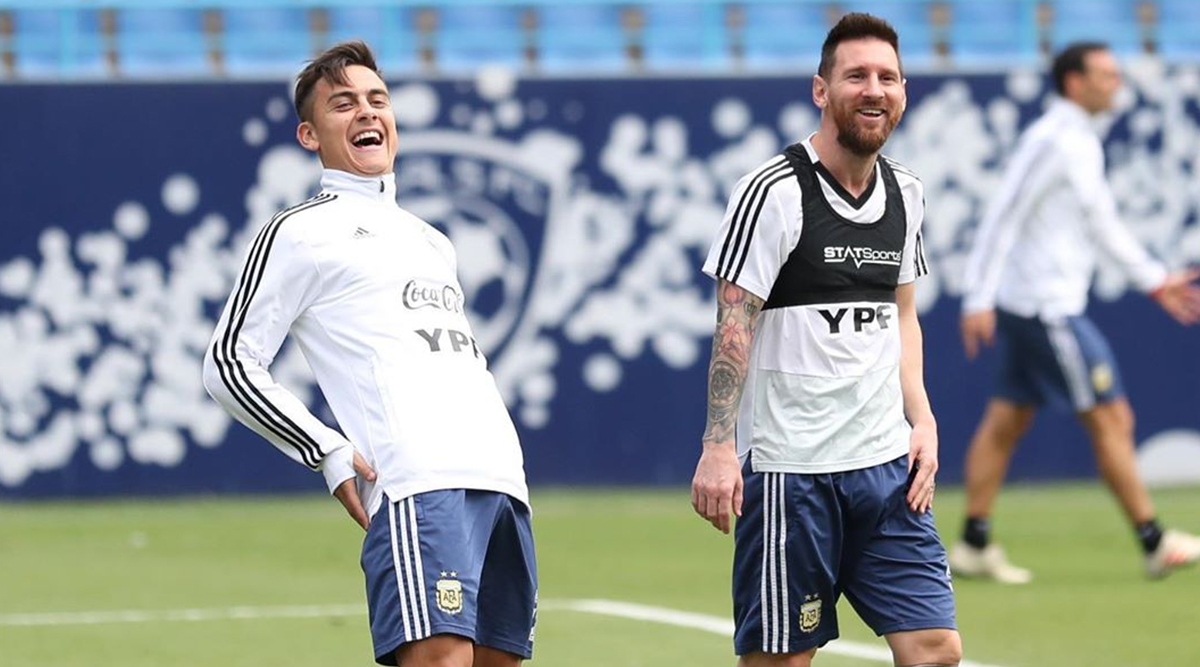 Lionel Messi Enjoying Fun Time With Paulo Dybala After Sensational Argentina Return (See Pic)