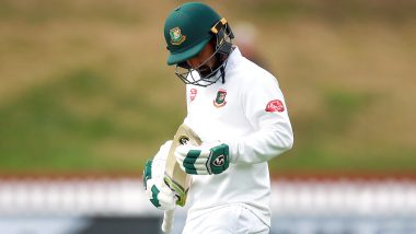 Liton Das Taken for CT Scan After Getting Hit on Helmet by Mohammed Shami in India vs Bangladesh Day-Night Test Match at Eden Gardens