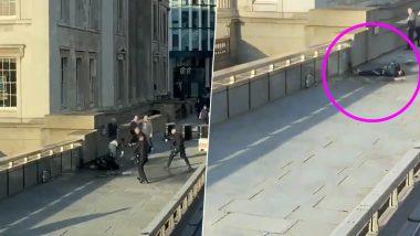 London Bridge Attack: Video Showing Man Being Shot Goes Viral on Social Media