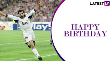 Happy Birthday Luis Figo: Top Four Goals Scored by the Real Madrid Legend
