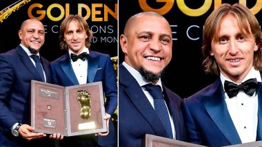 Golden Foot Award Winners' List: Luka Modric Bags 2019 Golden Foot Monaco Award, Here's A Look At Other Recipients of Last 10 Years!