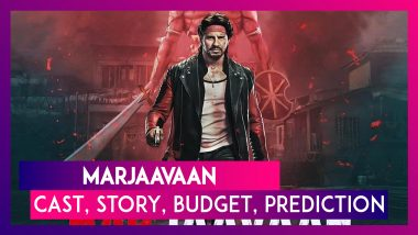 Marjaavaan: Cast, Story, Budget, Music, Prediction Of The Sidharth Malhotra & Riteish Deshmukh Film