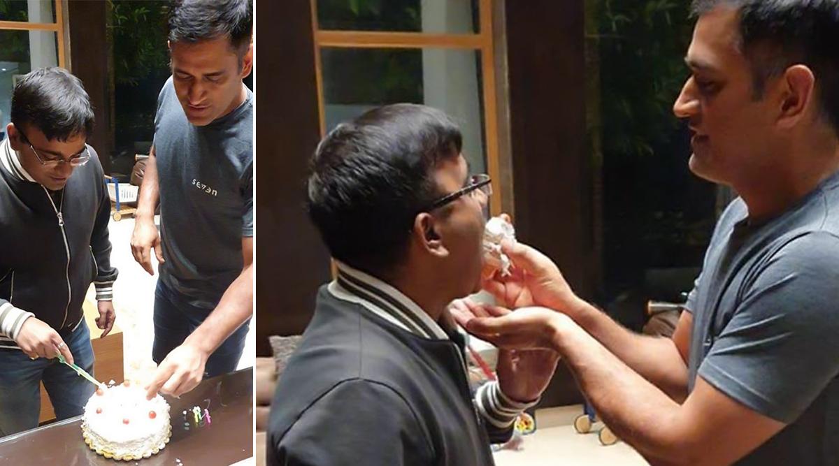 MS Dhoni Celebrates Friend's Birthday in Ranchi (View Picture)