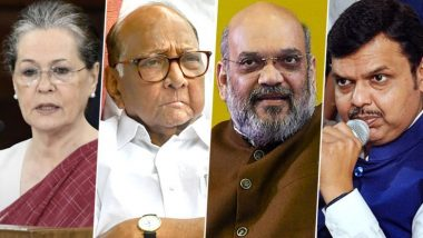 Maharashtra Political Crisis: BJP, Congress, NCP Call Core Group Meetings as Shiv Sena Gets Invite For Government Formation