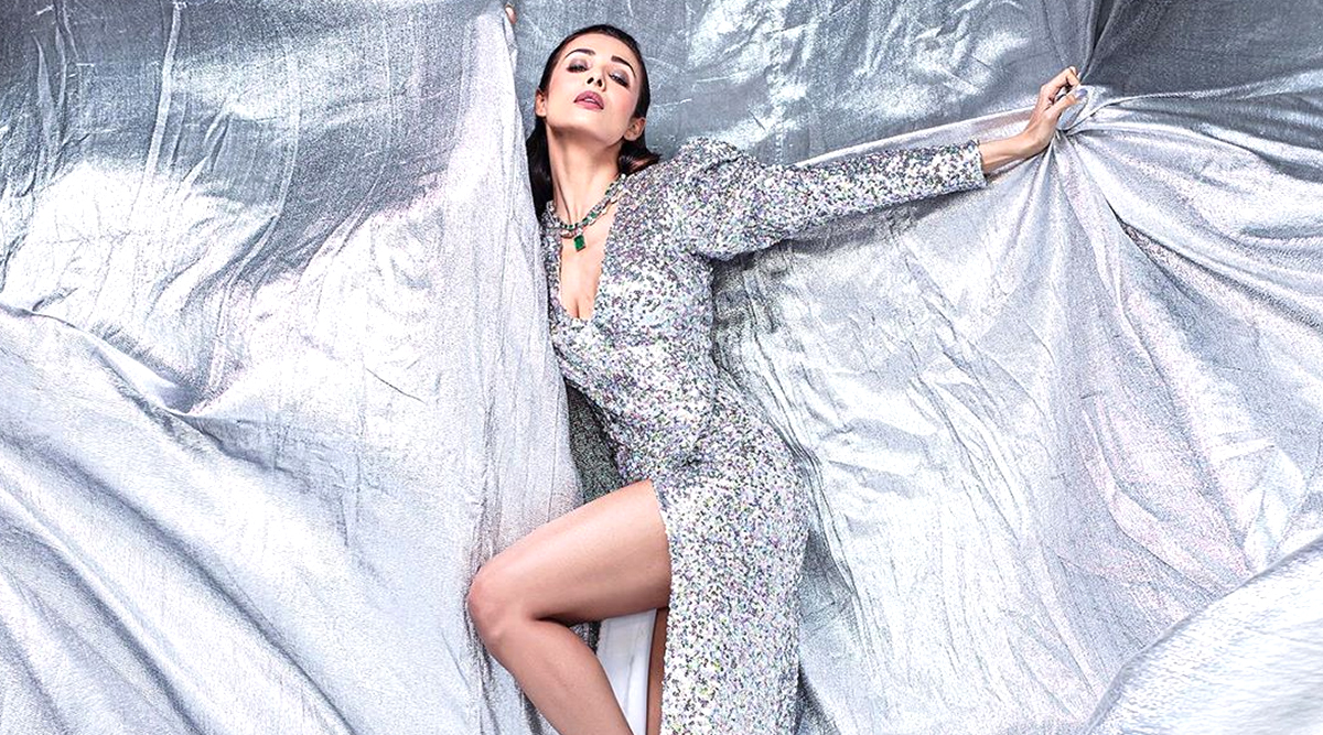 Malaika Arora's Latest Sparkly Photoshoot Proves All That Glitters Is Silver! (View Pics)