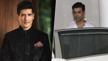 Ace Designer Manish Malhotra's Father Passes Away, Karan Johar, Shabana Azmi Clicked Outside His Home (View Pics)