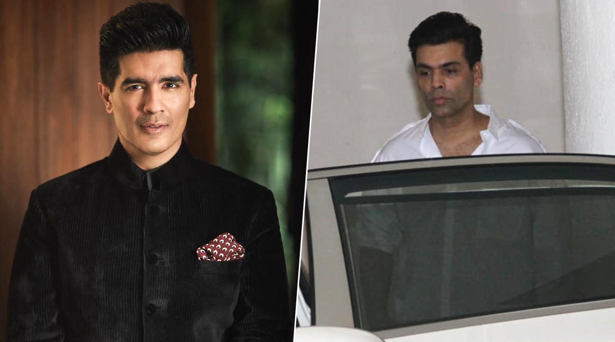 Ace Designer Manish Malhotra's Father Passes Away, Karan Johar, Shabana Azmi Clicked Outside His Home (View Pics)