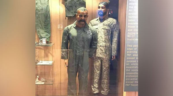 Pakistan Stoops to New Low with Wing Commander Abhinandan Varthaman's Mannequin Display at PAF Museum in Karachi
