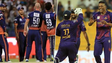 Abu Dhabi T10 League 2019 Live Streaming of Maratha Arabians vs Deccan Gladiators Online on Sony Liv: How to Watch Free Live Telecast of MAR vs DEG Final Match on TV & Cricket Score Updates in India