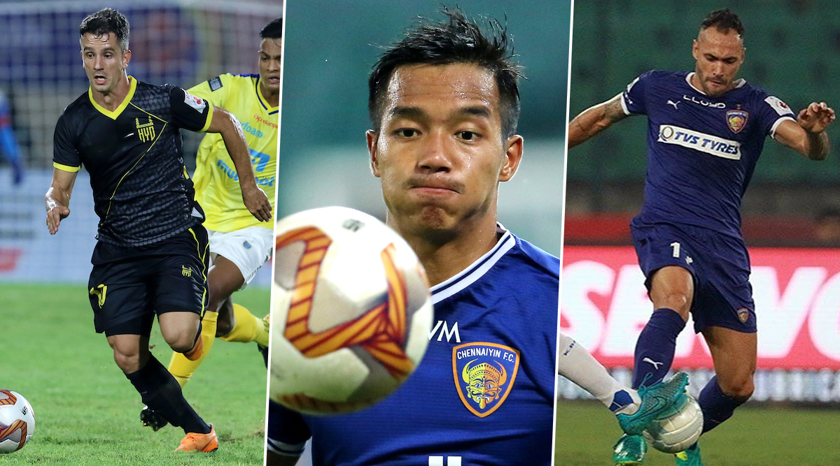 Chennaiyin FC vs Hyderabad ISL 2019–20: Marcelinho, Lallianzuala Chhangte & Other Players to Watch Out for in CFC vs HYD Indian Super League Clash