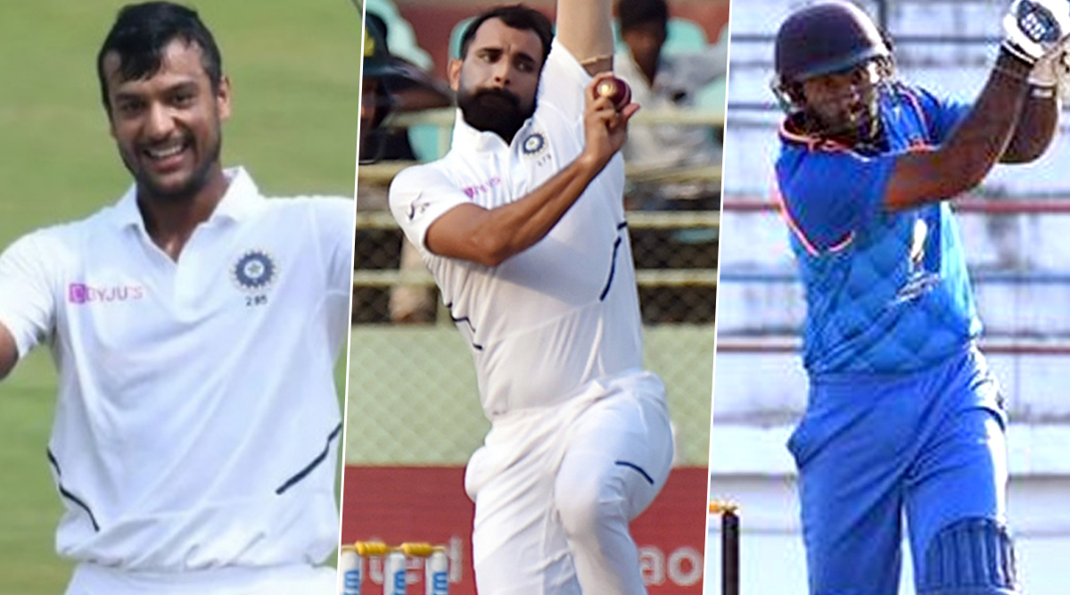 Cricket Week Recap: From Mayank Agarwal's Splendid Double Ton to Mohammed Shami's Breathtaking Spell to Karim Janat's All-round Blitz, A look at Finest Individual Performances