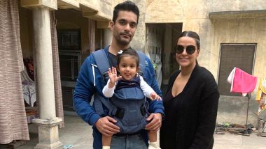 Neha Dhupia And Angad Bedi's Daughter Mehr's FIRST Clear Picture Makes It To The Web!
