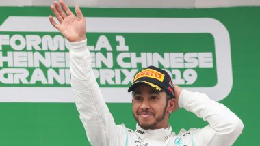 Lewis Hamilton, Formula One Champion, Signs New One-Year Deal With Mercedes