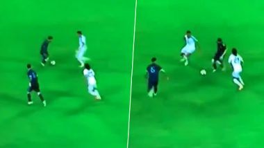 Lionel Messi Dribbles Past Six Uruguay Players During ARG vs URU International Friendly 2019, Netizens Left in Awe of Argentina Footballer's Mad Skills (Watch Video)